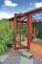 Brick-and-wooden-conservatory